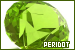 Gemstones: Peridot: