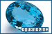 Gemstones: Aquamarine: